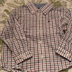 Tommy Hilfiger button down 18m
